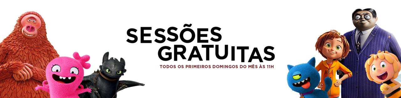 Sessões Gratuitas – Espaço Guimarães